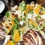 Grilled Radicchio Orange & Fennel Salad