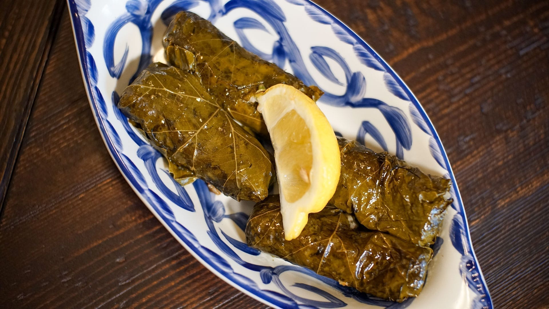 Dolmades Grape Leaves Bistro 1907