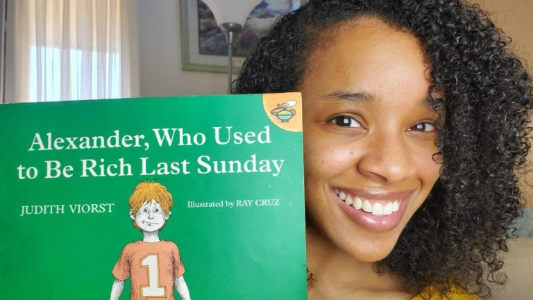 Alexander, Who Used to Be Rich Last Sunday by Judith Viorst | Clark's Cozy Corner