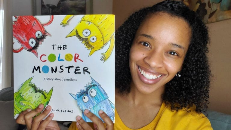 The Color Monster - A Story About Emotions by Anna Llenas | Clark's Cozy Corner