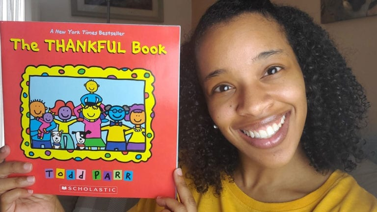The Thankful Book by Todd Parr | Clark's Cozy Corner