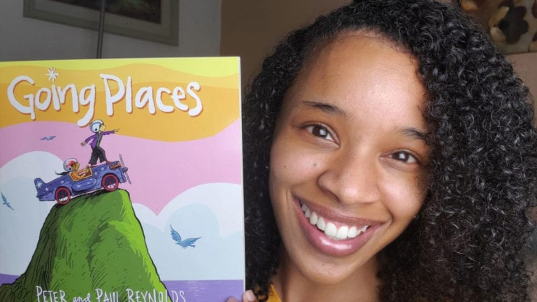 Going Places by Peter and Paul Reynolds | Clark's Cozy Corner