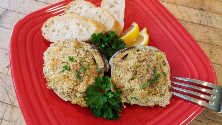 Baked Clams on the Half Shell | In The Spotlight