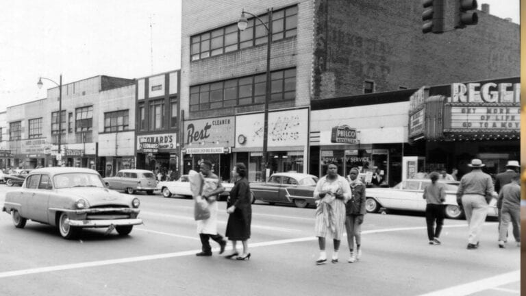 East Federal Street and the Regent Theater | In The Spotlight